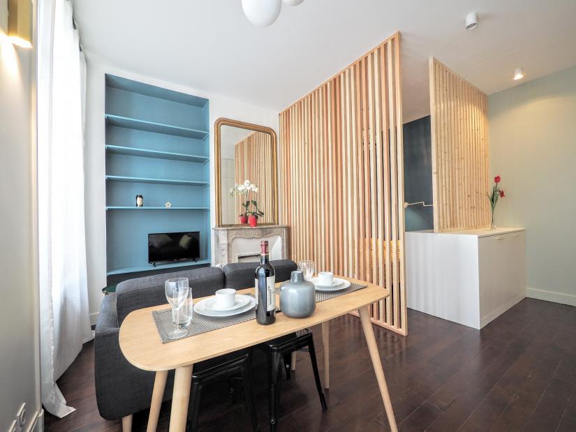 Selection of apartments in Paris short term apartment rentals