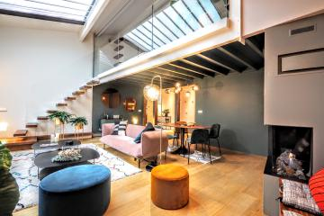 2 bedrooms of Fosses St-Jacques Penthouse apartments in Paris Pantheon