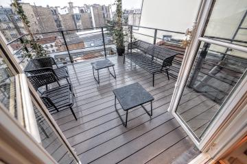 2 bedrooms of Fosses St-Jacques Penthouse Apartment Pantheon