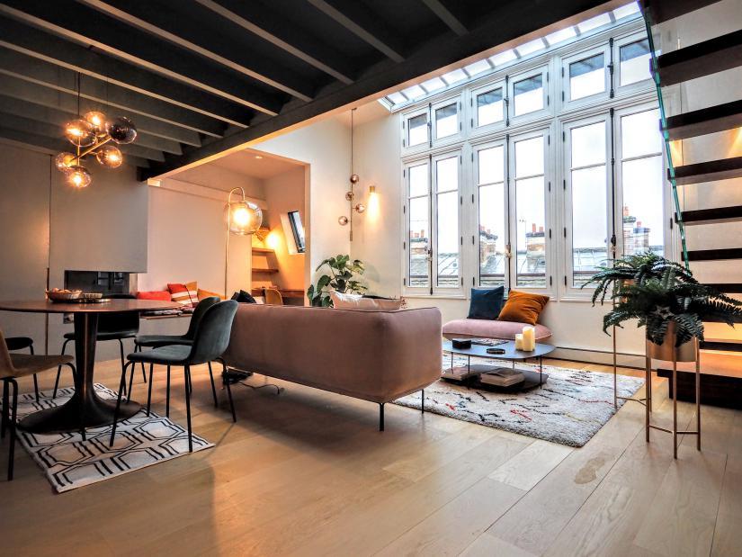 Paris Penthouse Apartment Rental Pantheon 75005 Paris