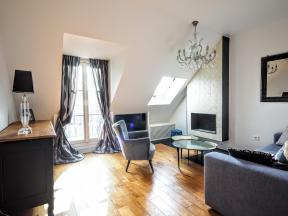 Apartment Paris Rivoli sky view - 1 bedroom