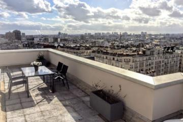 3 bedrooms of Paris skyline apartments in Paris Pere Lachaise