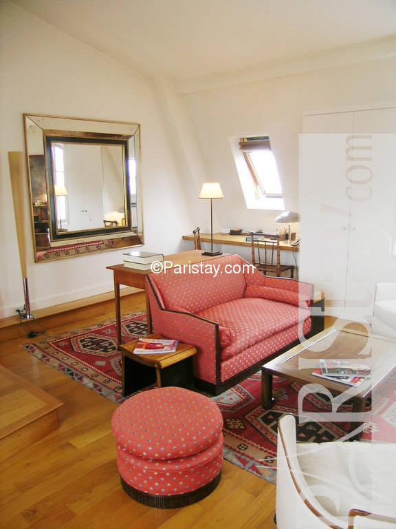 Paris location meubl e appartement type t2 cherche midi 55 for Cherche appartement paris