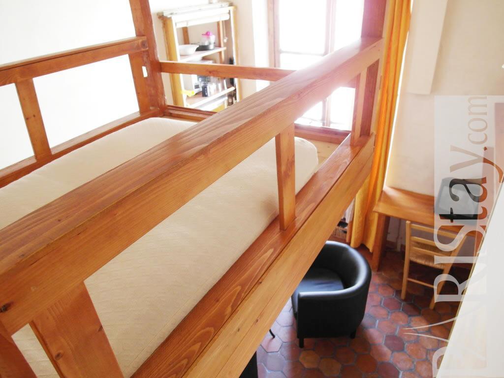 Paris location meubl e appartement type t1 studio odeon - Kind mezzanine kantoor ...