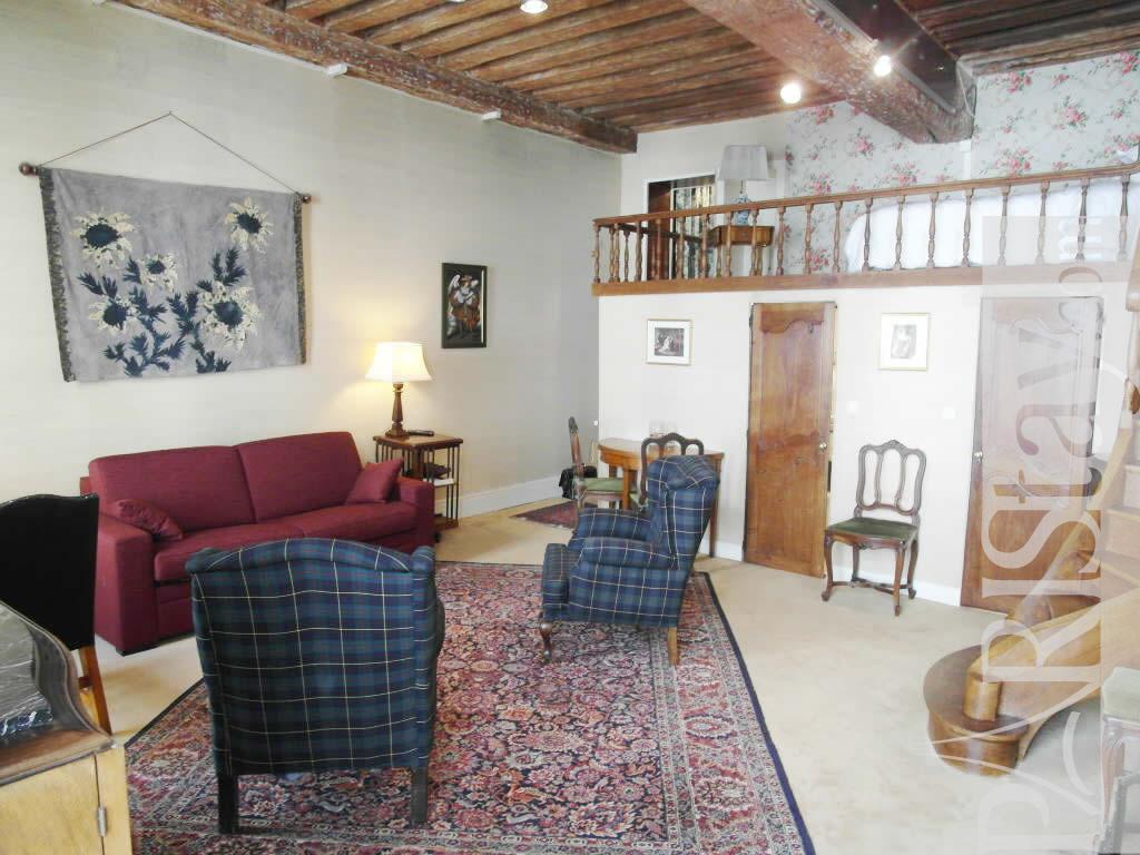 Paris Location Meubl E Appartement Type T2 Ile St Louis