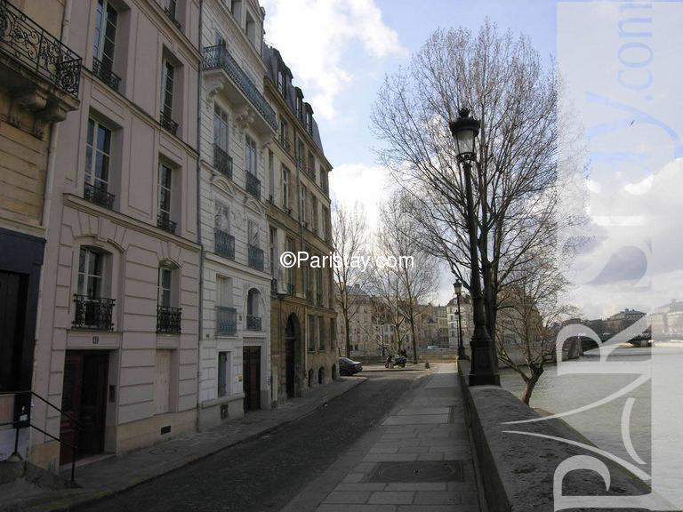 Paris Location Meubl E Appartement Type T4 Ile St Louis