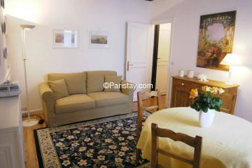 Apartment Ile Saint Louis Romantic