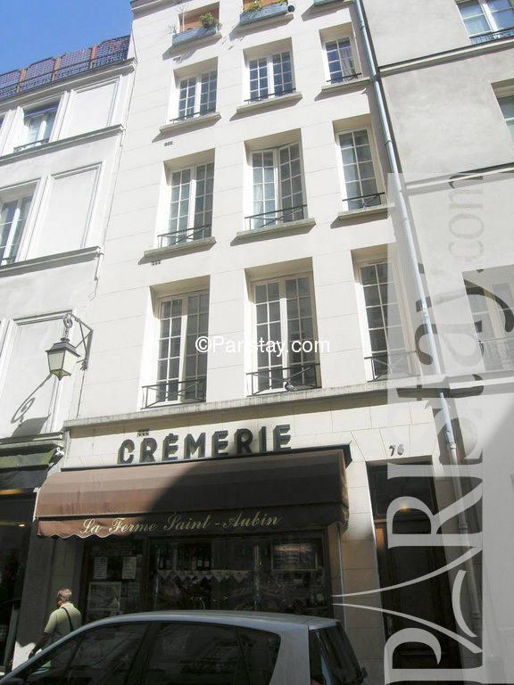 Paris Location Meubl E Duplex Type T3 Ile Saint Louis Balcony