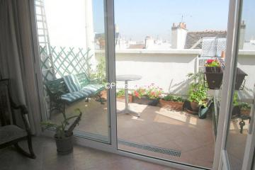 Apartment Ile saint louis Balcony