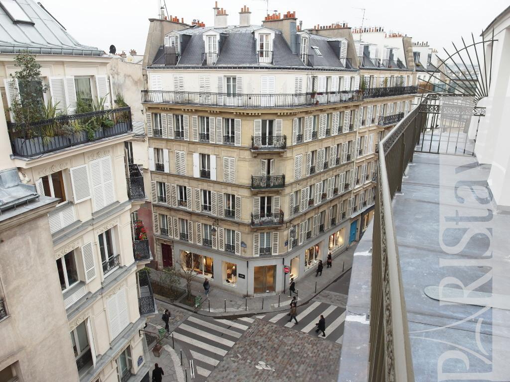 Paris location meubl e appartement type t2 pavee marais terrace - Location marais paris ...