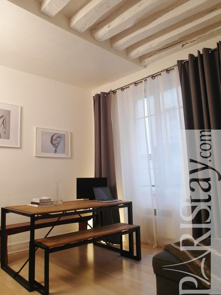 Paris Location Meubl E Appartement Type T2 Marais Vertus