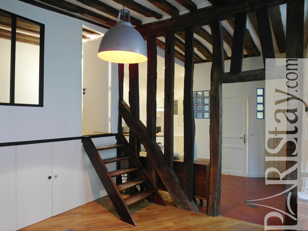 paris location meubl e appartement type t2 montorgueil parisian. Black Bedroom Furniture Sets. Home Design Ideas