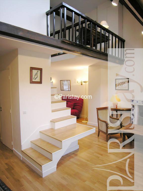 duplex for rent long term paris 4th arrondissement beaubourg 75004 paris. Black Bedroom Furniture Sets. Home Design Ideas